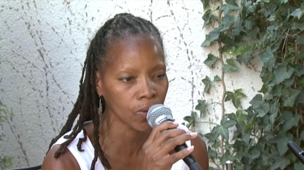 annual fun in the sun, sabrina sitting singing on stage6