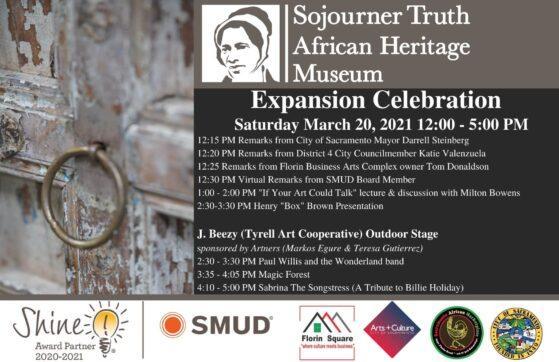 sojourner truth museum event flyer